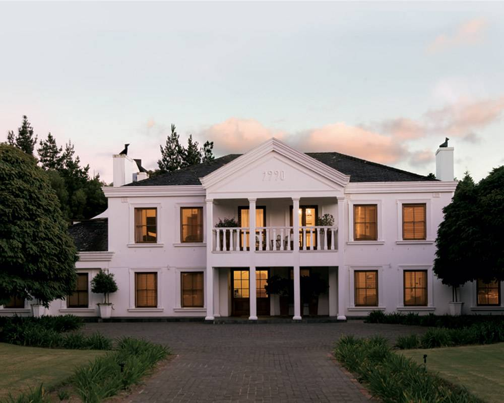 Facade of Villa Exner Exclusive Boutique Hotel, Elgin Valley