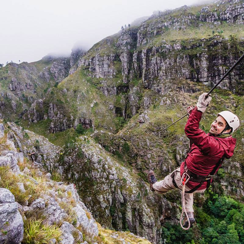 Cape Canopy Tour zipline adventure near Grabouw