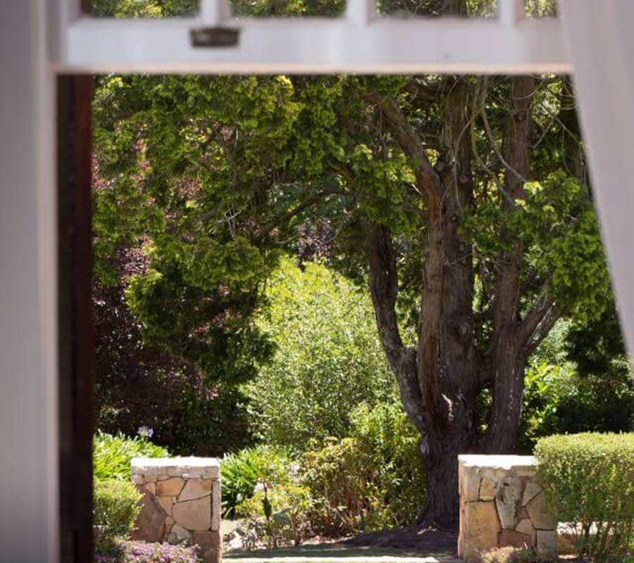 View from room at Elgin Vintners Manor Hosue