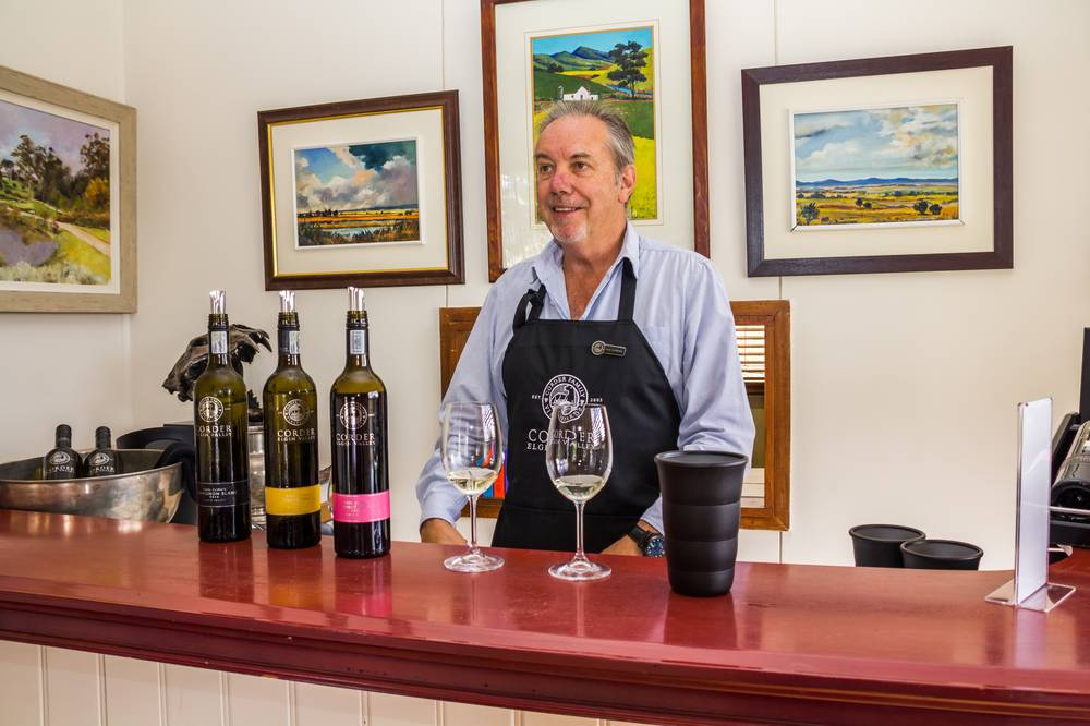 Ian Corder from Corder Family Wines