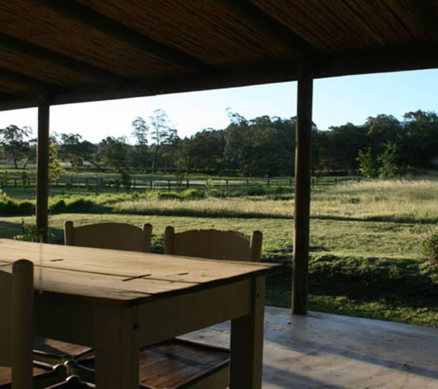 Lilybank Cottage verandah