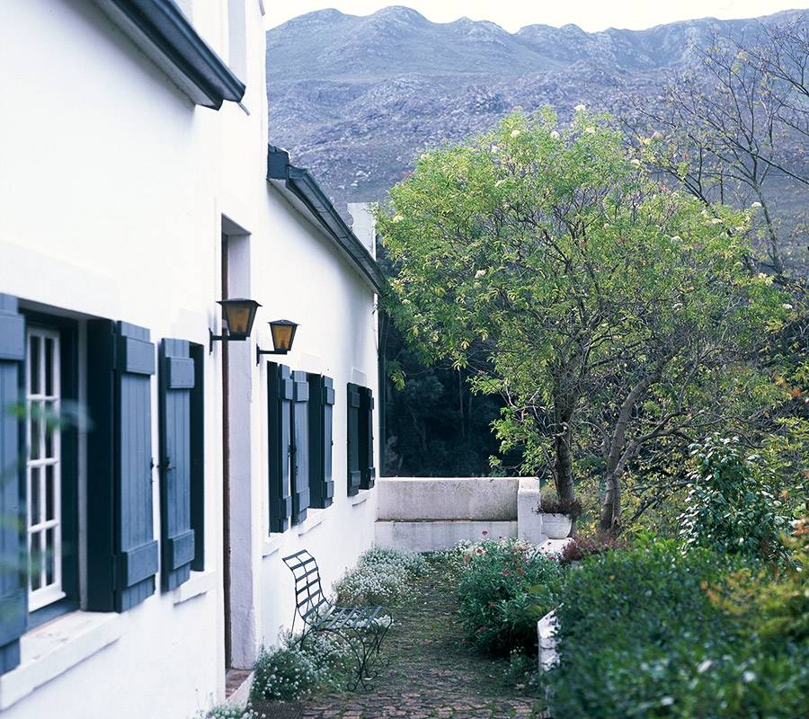 Stoep of Wildekrans Country House