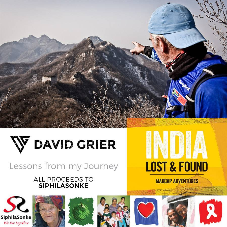 David Grier - famous adventurer, chef and motivational speaker shares some of his adventures at Trail's End in Grabouw. All proceeds to SiphilaSonke.
