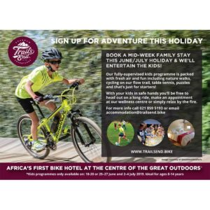 Trail's End winter school holiday programme