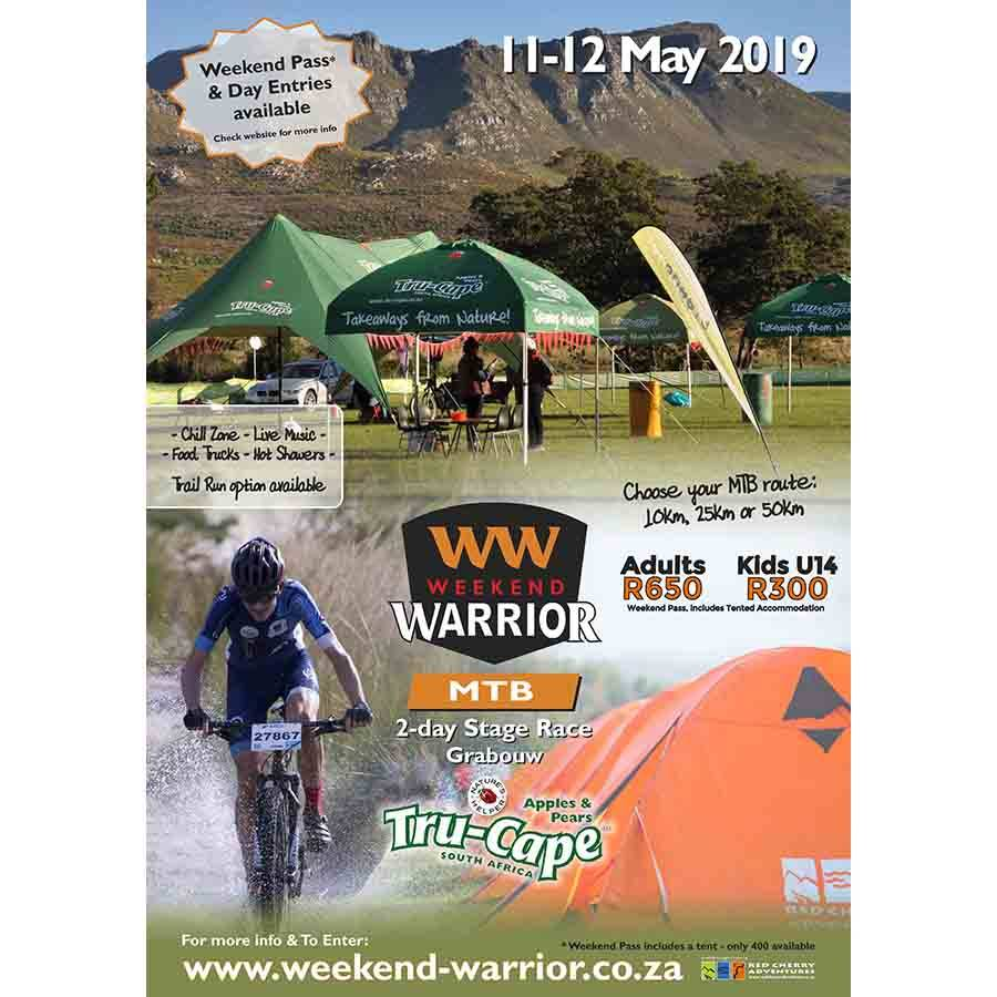 Weekend Warrior Grabouw 11-12 May 2019