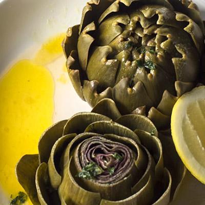 Artichoke and Lemon