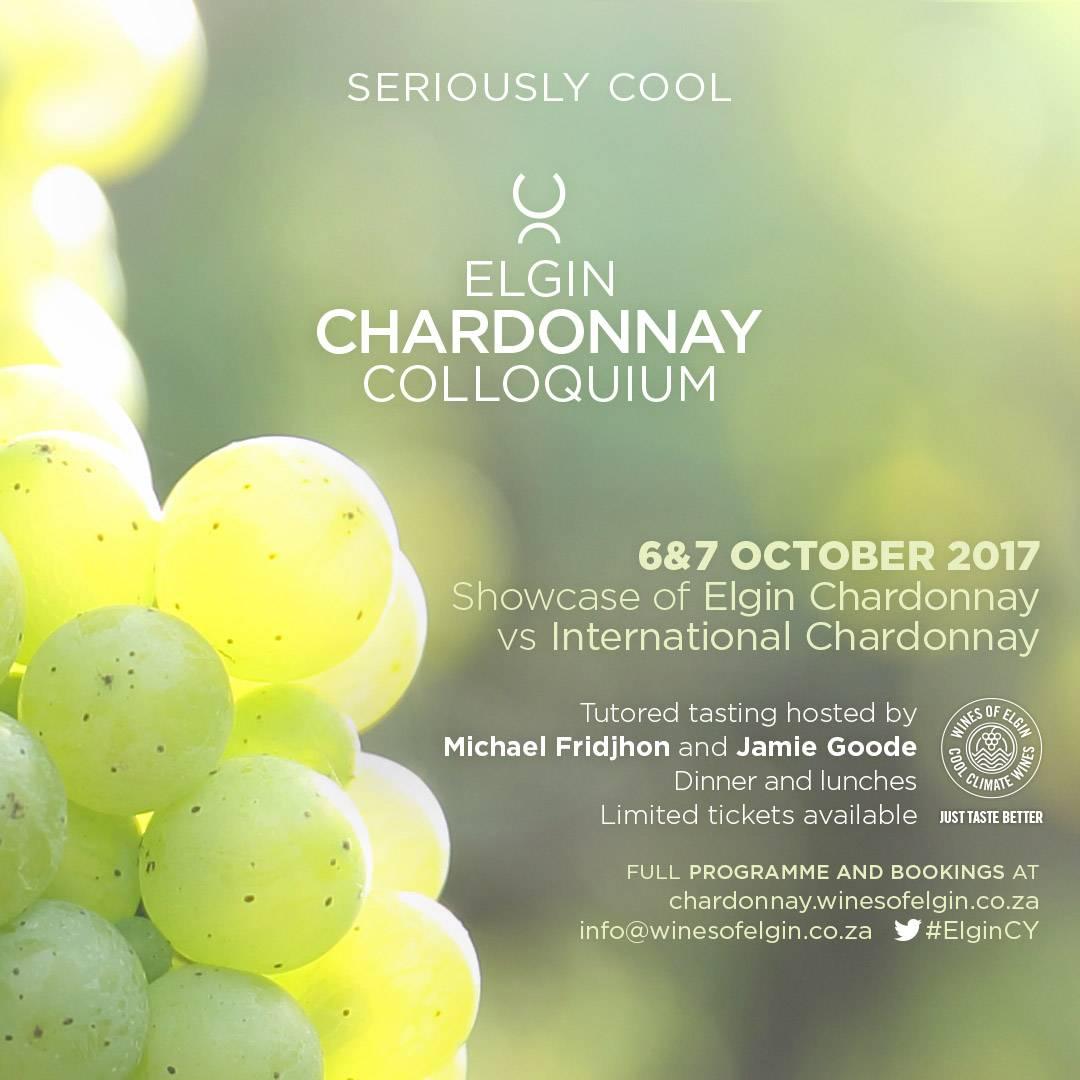Chardonnay Colloquium grapes