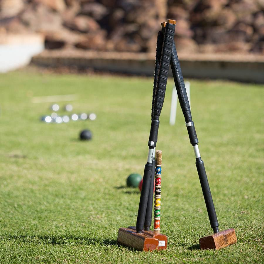 Croquet at South Hill, Elgin