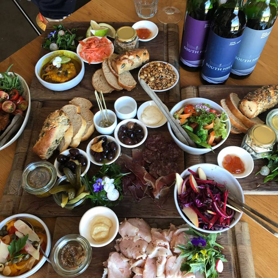 Elgin country platters at South Hill Restaurant