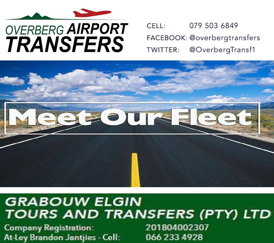 Grabouw Elgin Tours and Transfers