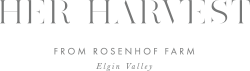 Her Harvest Restaturant logo
