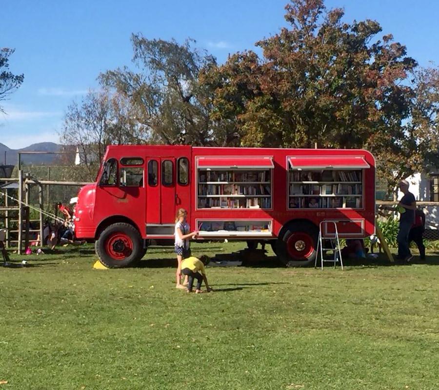 Burning Books (Liberty Books Brigade) fire truck