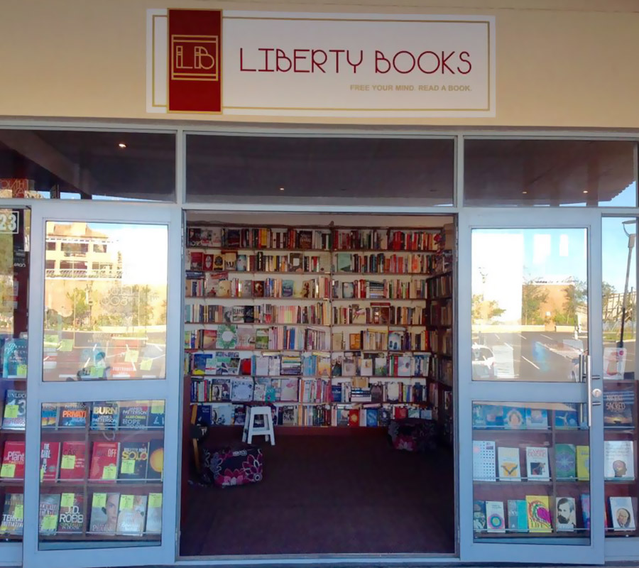 Liberty Books shop in Grabouw