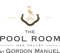 The Pool Room Restaurant at Oak Valley logo