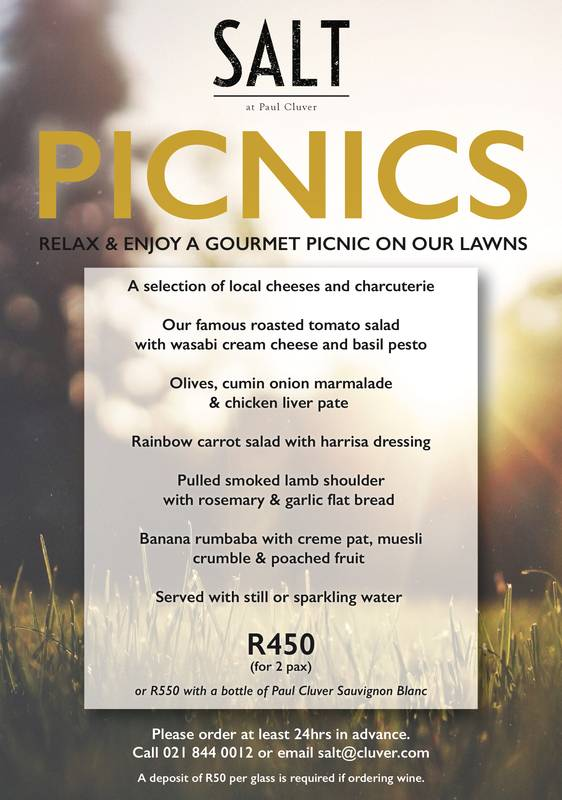Salt Picnic menu