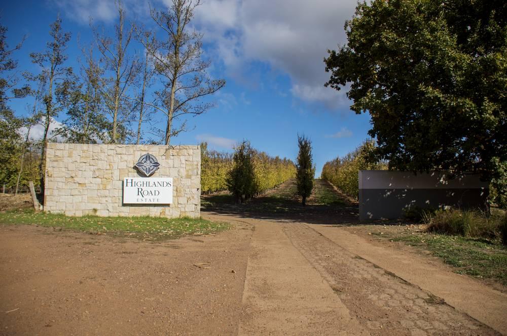 Entrance to Highlands Road Estate