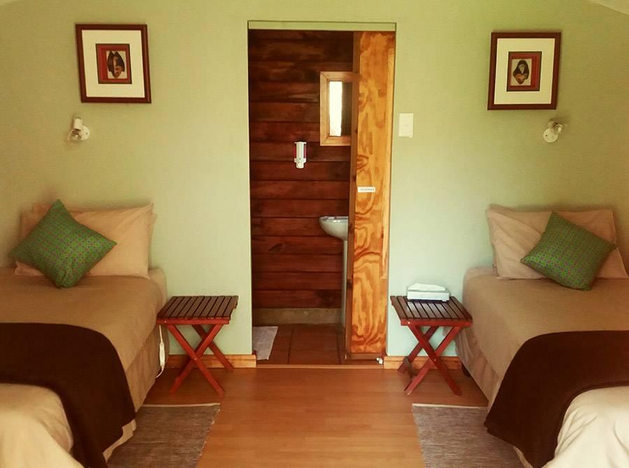Kunguru Lodge interior