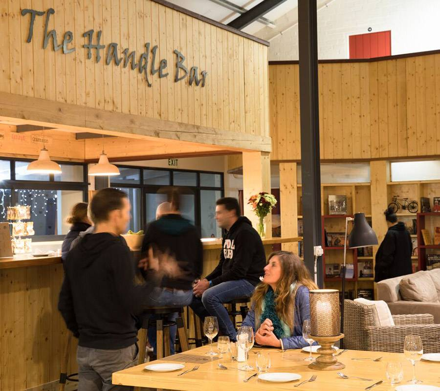 The Handle Bar restaurant