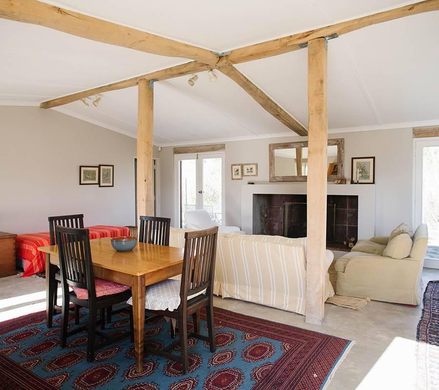 Orchard Cottage sitting room on Rockhaven Farm