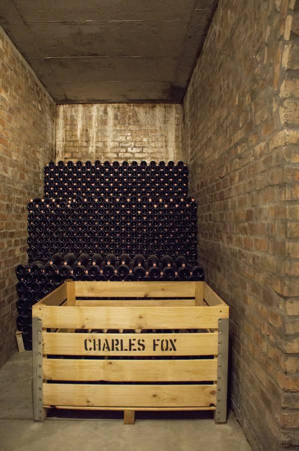 Charles Fox cellar