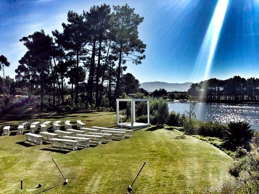 Outdoor venue and wedding chapel