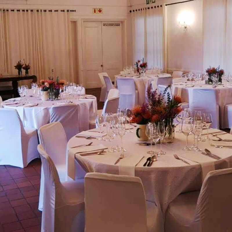 Elgin Grabouw Country Club conference facilities and wedding venue