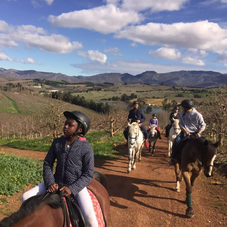 Pony rides and outrides at Long Shadows Farm
