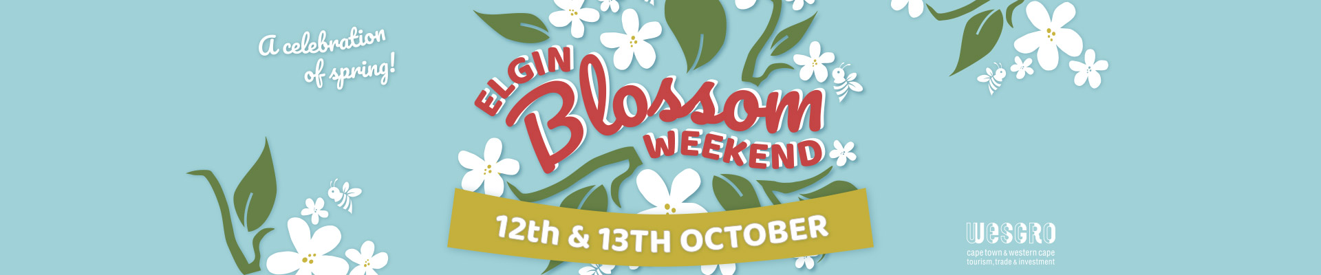 Blossom Weekend 12-13 October 2019