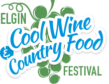 Logo of the Elgin Cool Wine and Country Food Festival