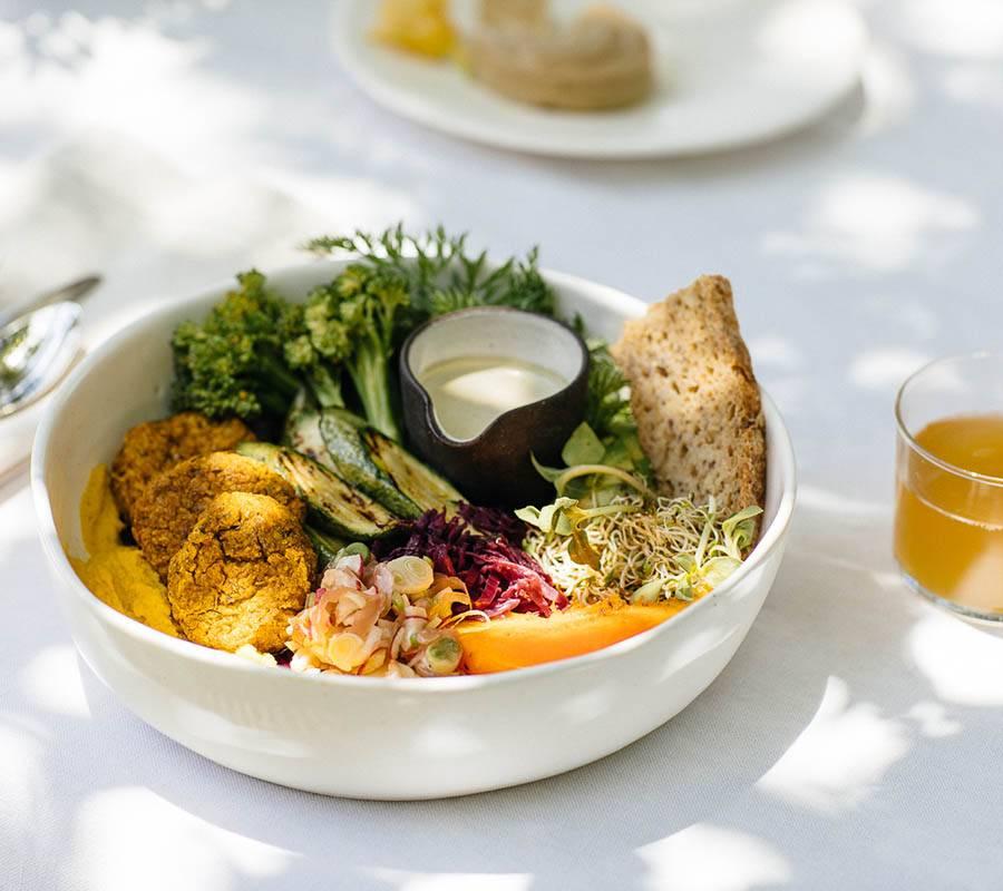 Fresh plant-based food