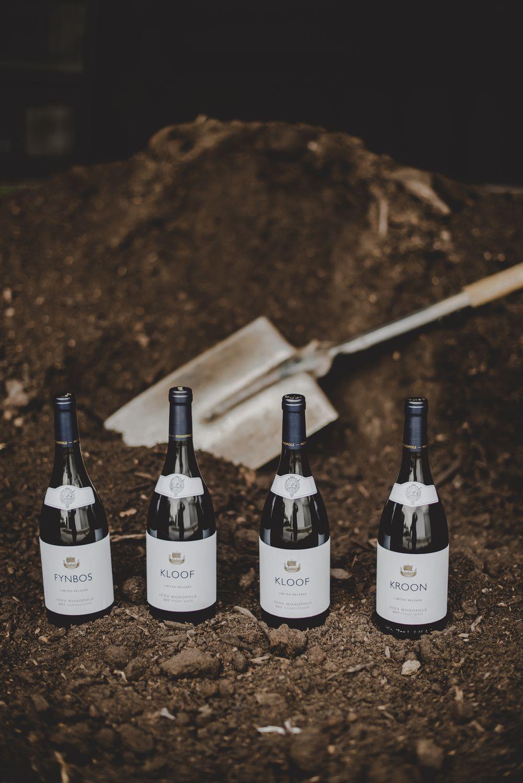 Fynbos, Kloof and Kroon single vineyard wines