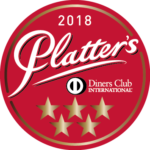 Platter's 5 stars 2018 sticker