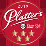Platter's 5 stars 2019 sticker